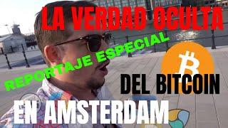 La VERDAD OCULTA del BITCOIN en AMSTERDAM!!! (1 día pagando con criptomonedas)