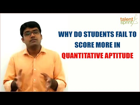 Why Do Students Fail to Score More in Quantitative Aptitude? || IT Careers