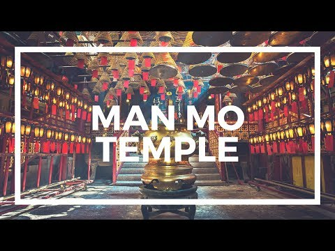 The Man Mo Temple - Hong Kong