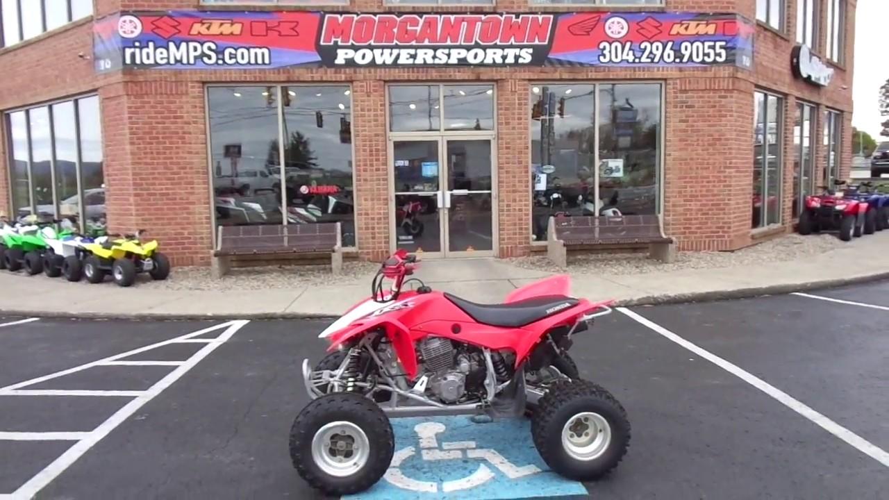 2014 Honda Trx400x For Sale At Morgantown Powersports Youtube