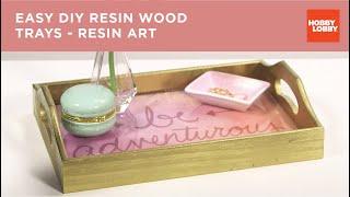 DIY Resin Trays
