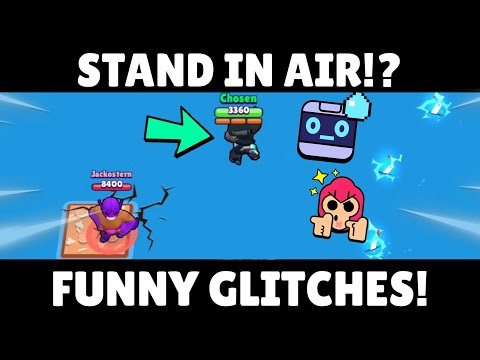 STAND IN AIR WITH CROW!? | Funny Glitches/Bugs In Map Maker! | Brawl Stars