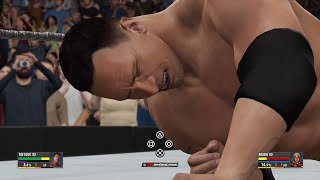 Rikishi vs The Rock ✦ 【WWE 2K16 - Hall of Fame Showcase】