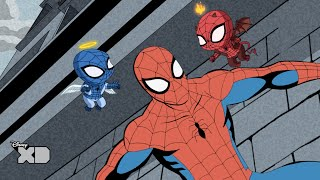 Ultimate Spider-Man: Web Warriors - Retro Spider-Man! - Disney XD UK HD