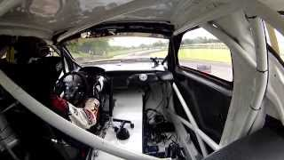 LYDDEN RX - ION CAMERA PETTER SOLBERG PRACTICE ONBOARD - FIA WORLD RALLYCROSS CHAMPIONBHIP