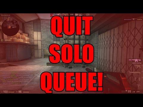 How to Quit Solo Queue in CS:GO!