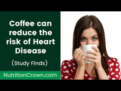 Coffee can reduce the risk of Heart Disease 😃 ☕