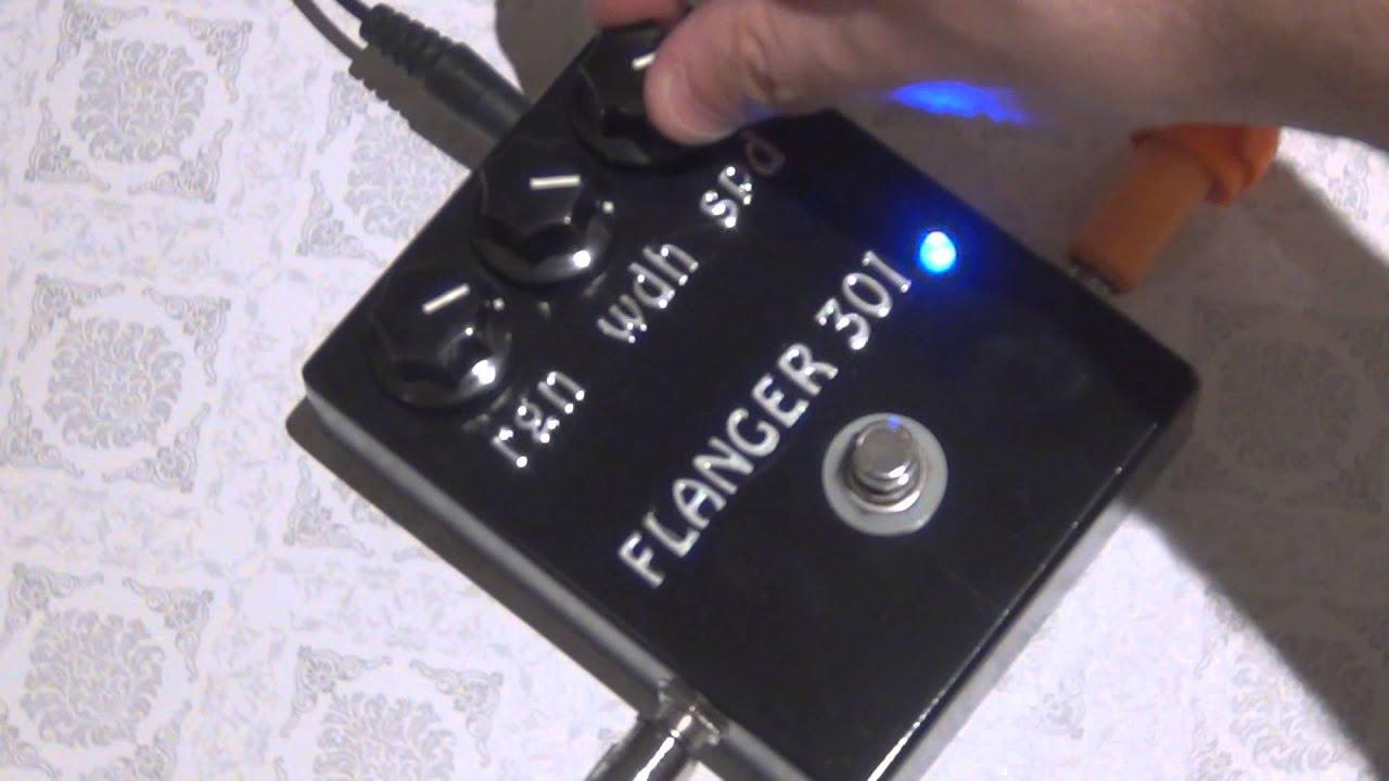 sound demo tonepad flanger 301 ibanez flanger 301 clone youtube