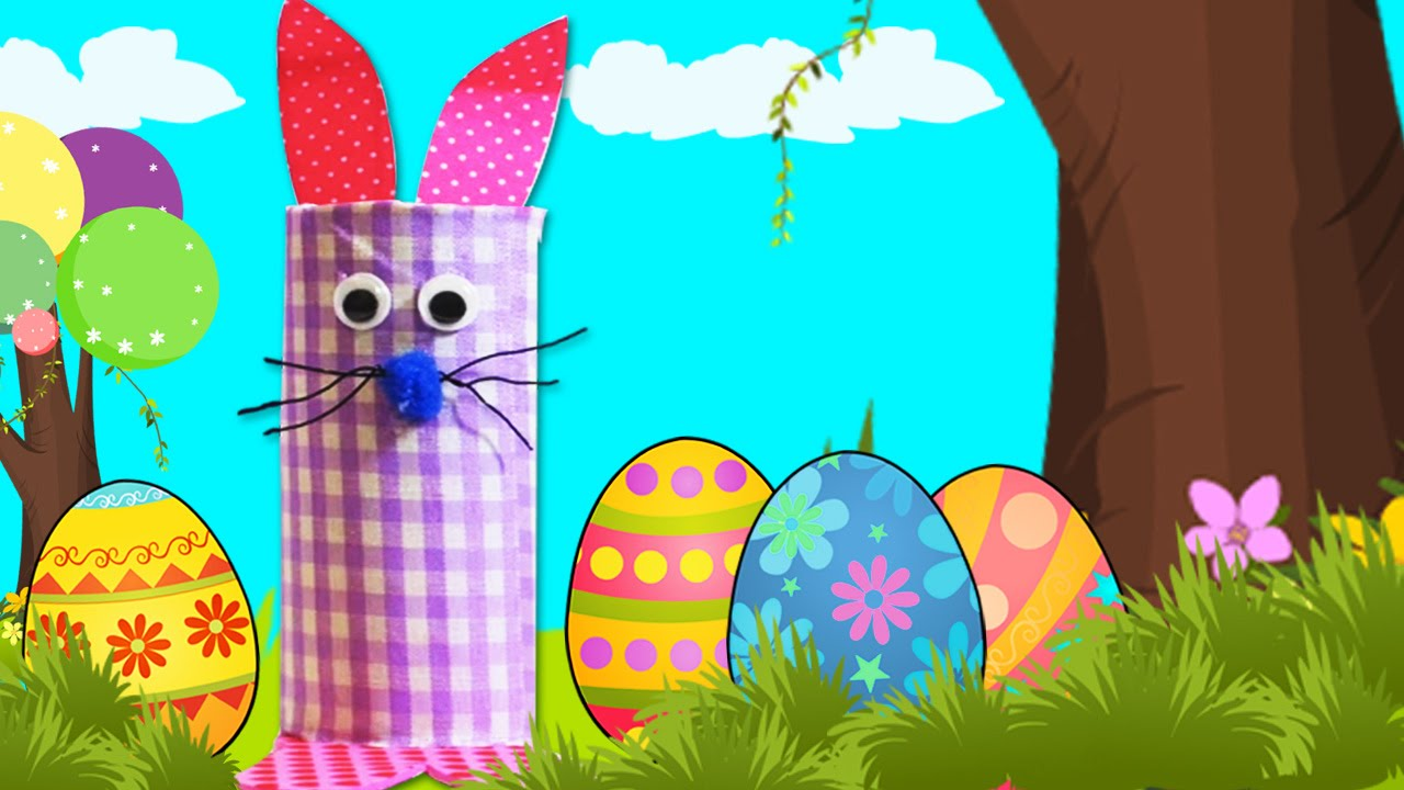 Easy Easter Crafts Cute Easter Bunny Craft For Kids DIY Easter Fun