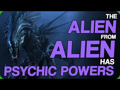 The Alien From Alien Has Psychic Powers (Read Some Lumberjack Horror)