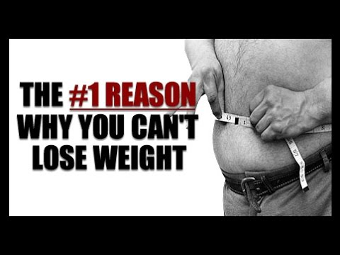 """""""Why Can't I Lose Weight?!"""" Here's The #1 Reason"""