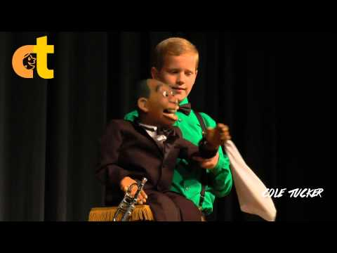 Cole Tucker - 12 Year old Ventriloquist! Amazing!