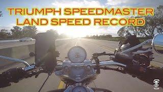 THEWARBEARD BREAKS TRIUMPH SPEEDMASTER LAND-SPEED RECORD