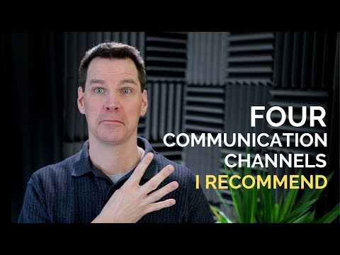 4 Communication Channels I Recommend 👍