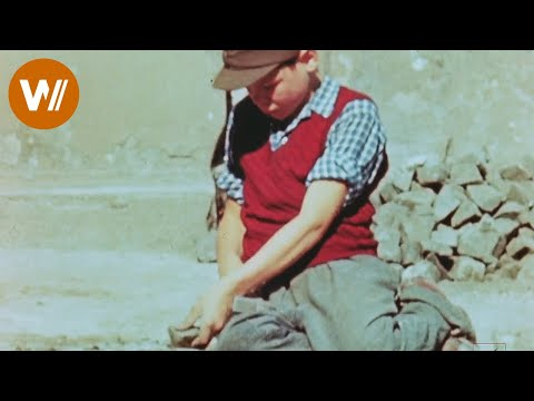 Life in the streets of Berlin in July 1945 - amazing footage scanned in HD