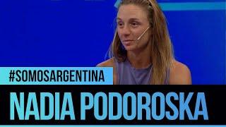 Nadia Podoroska en #SomosArgentina