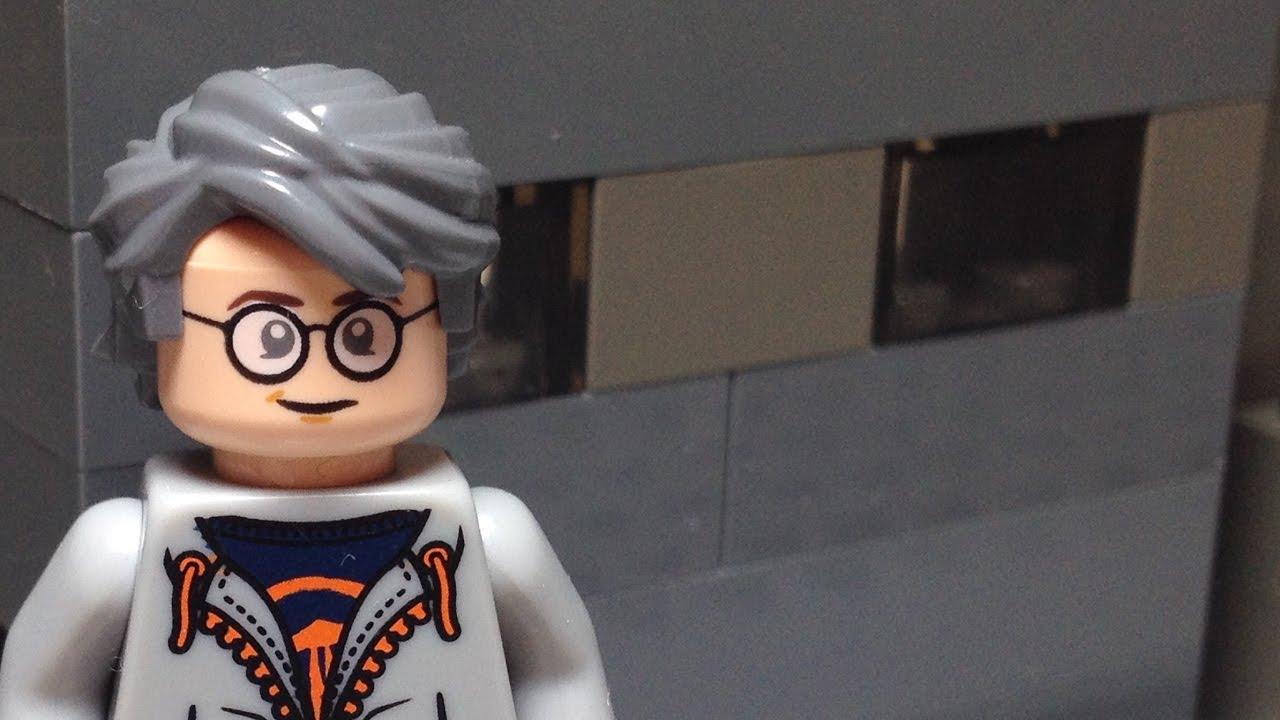 Custom LEGO Marvel Xmen Quicksilver Minifigure Review ...