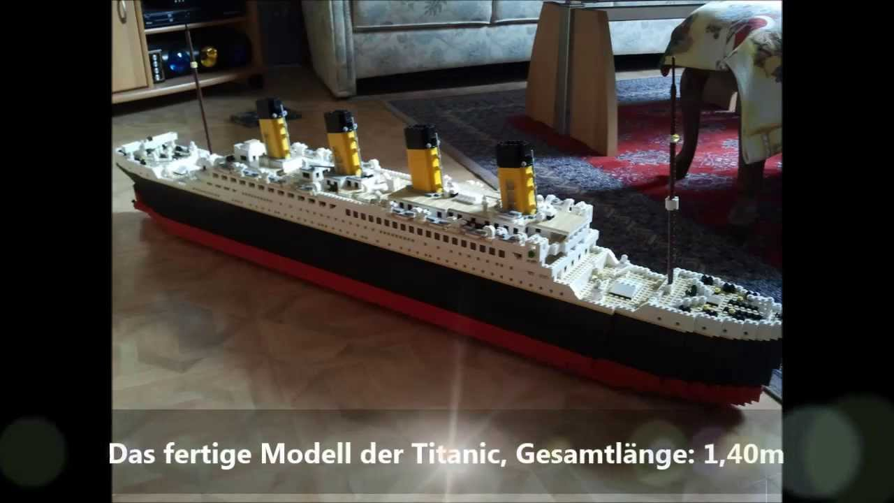 bau des lego modells titanic youtube. Black Bedroom Furniture Sets. Home Design Ideas