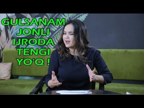 Gulsanam Jonli Ijroda Tengi Yo'q!