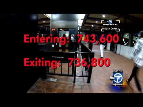 Metro fare evasion: Transit police may add alarms