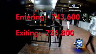 Metro fare evasion: Transit police may add alarms