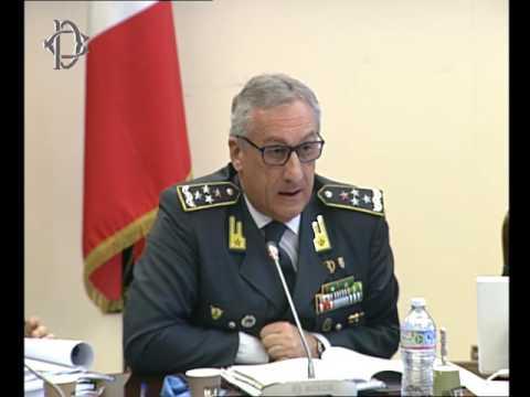 Roma - Contrasto evasione fiscale, audizione Toschi, Guardia di Finanza (30.03.17)