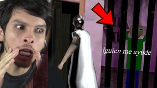 GRANNY SE VA DE LA CASA Y ENCUENTRO A BALDI !! - Granny (Horror Game)