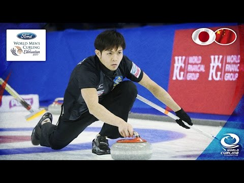 Japan v China - Round-robin - Ford World Men's Curling Championship 2017