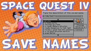 """Ross Saving Games in """"Space Quest IV"""" - Steam Train Compilation"""
