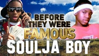 SOULJA BOY - Before They Were Famous - Vs Chris Brown