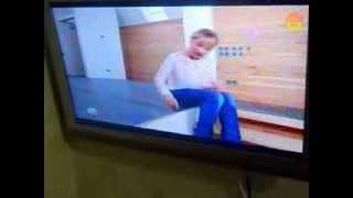 ЖК телевизор Рубин RB-32SL1U распаковка краткий обзор и установка.(Извините за качество монтажа (звук отстает), в следующих видео буду работать над этим, снял видео т.к. когда..., 2013-10-27T16:45:56.000Z)
