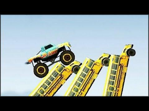 Monster Trucks Nitro Game Youtube