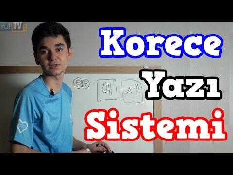 Korece Nasıl Yazılır?   Acemi Korece
