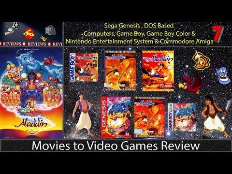 Movies to Video Games Review -- Aladdin (GEN/DOS/Amiga)