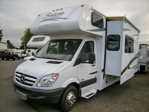 Affordable RV Test Drive ~ 2009 Mercedes Forrest River Solera Class C RV