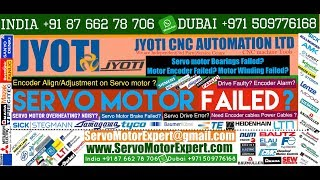 Jyoti Machine CNC Repair Siemens Drive Data, Simodrive Parameter, Servo Motor Testing, Drive Repair