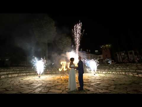 Салют на свадьбу в Пушкарке