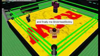 R.X.W Roblox Xtreme Wrestling Preview