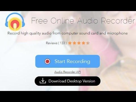 أفضل أداة تسجيل الصوت اون لاين بجودة عالية بدون برنامج من المايك او الكمبيوتر