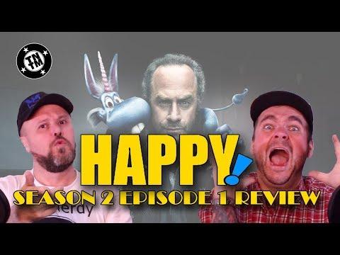 SyFy Channel Happy Season 2 Episode 1 Review - A Little Spoilerish