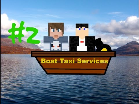 Minecraft - Theme Park - Boat Taxis! (2)