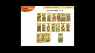 Aprender Tarot; El cuento de la vida de una persona explicada con las cartas del Tarot