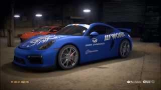 Need For Speed 2015 - Porsche Cayman GT4 2015  - Tuning & Free Roam Gameplay (XboxONE HD) [1080p]