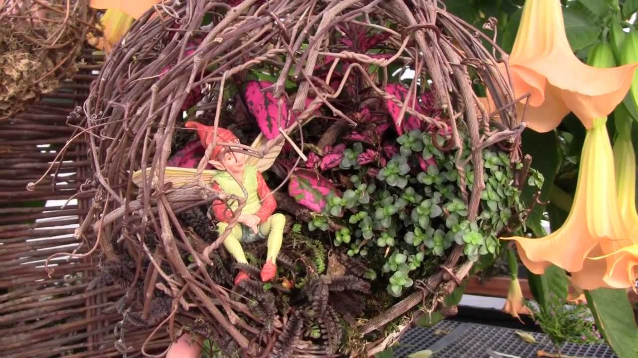 Ideas For Fairy Gardens amazing miniature garden design with patio furniture and lights Miniature And Fairy Garden Ideas Youtube