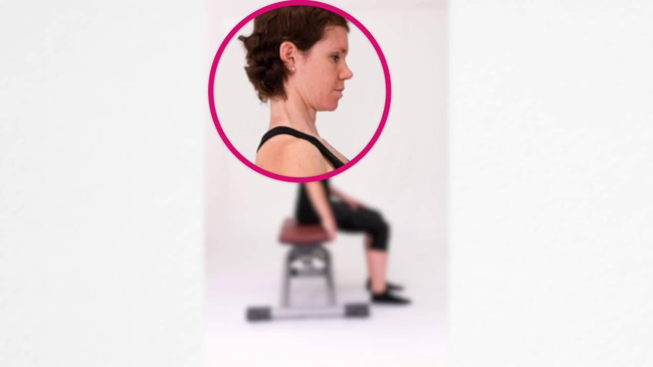 Aktivierung Halsmuskulatur (3 Übungen) - YouTube