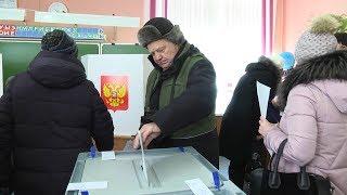 Голосование в школе № 41