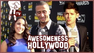 Toby Turner at the Hall of Game Awards Red Carpet - Awesomeness Hollywood
