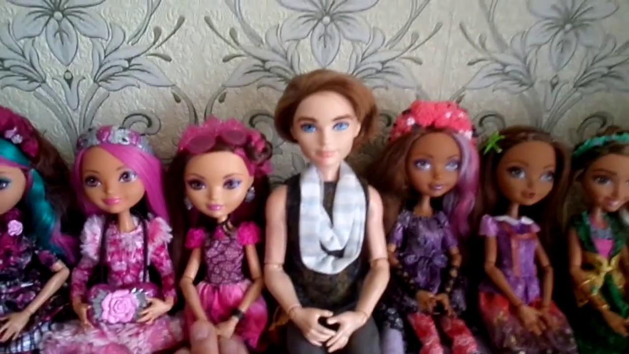 Моя коллекция кукол своими руками