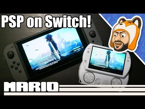 PSP Emulation On Switch Is AWESOME! - PPSSPP Standalone Beta Showcase