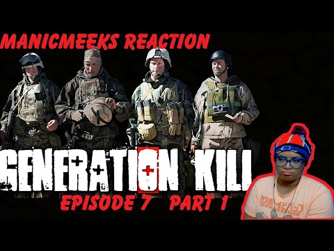 "INCOMPETANCE ALL THE WAY THROUGH! | Generation Kill Episode 7 ""Bomb in the Garden"" Reaction Part 1!"